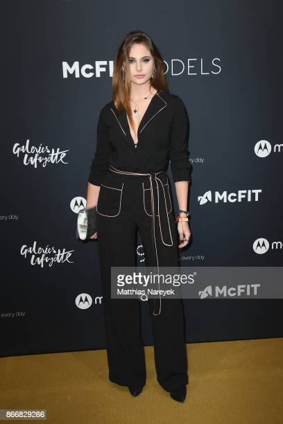 Carina Zavline attends the New Body Award By McFit Models on October 26 2017 in Berlin Germany