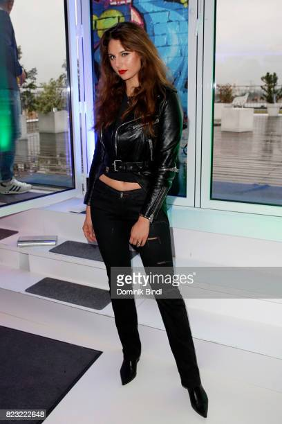 Carina Zavline during the Audemars Piguet and Wempe OldSchool Hip Hop Party at Skyloftstudios on July 26 2017 in Munich Germany