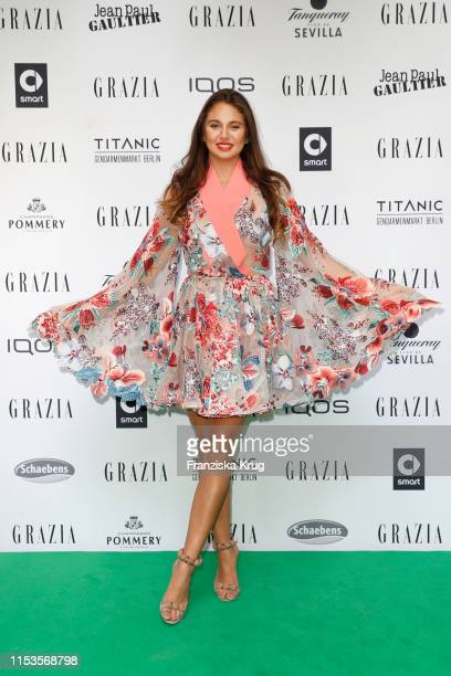 Carina Zavline during the Grazia Fashion Night at Titanic Hotel on July 3 2019 in Berlin Germany