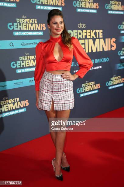Carina Zavline during the premiere of Das perfekte Geheimnis at Mathaeser Filmpalast on October 21 2019 in Munich Germany