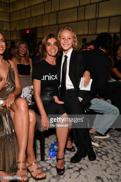 Carine Roitfeld and Jameson Kroenig attend Daily Front Row's Fashion Media Awards on September 6 2018 in New York City