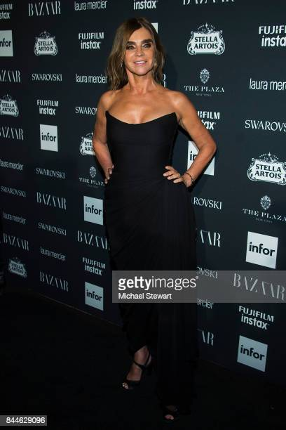 Carine Roitfeld attends 2017 Harper's Bazaar Icons at The Plaza Hotel on September 8 2017 in New York City
