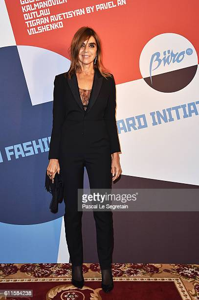 Carine Roitfeld attends Buro 24/7 Fashion Forward Initiative as part of Paris Fashion Week Womenswear Spring/Summer 2016 at Hotel Ritz on September...