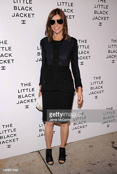 Carine Roitfeld attends Chanel's:The Little Black Jacket Event at Swiss Institute on June 6, 2012 in New York City.