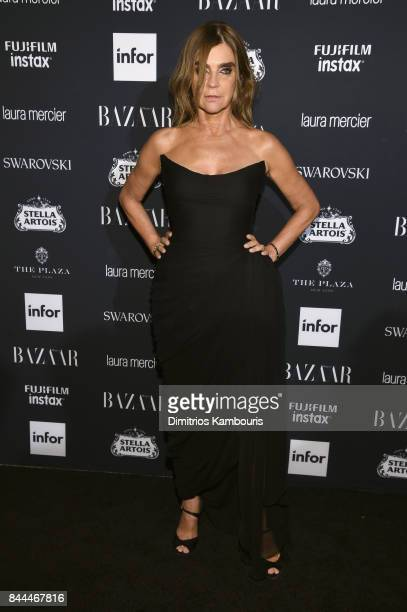 Carine Roitfeld attends Harper's BAZAAR Celebration of 'ICONS By Carine Roitfeld' at The Plaza Hotel presented by Infor Laura Mercier Stella Artois...