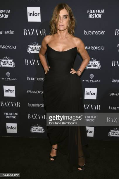 Carine Roitfeld attends Harper's BAZAAR Celebration of ICONS By Carine Roitfeld at The Plaza Hotel presented by Infor Laura Mercier Stella Artois...