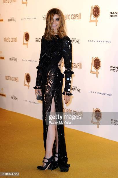 Carine Roitfeld attends ROBERTO CAVALLI 40th Anniversary Event CONTACT SIPA PRESS FOR SALES at Les BeauxArts de Paris on September 29 2010 in Paris...