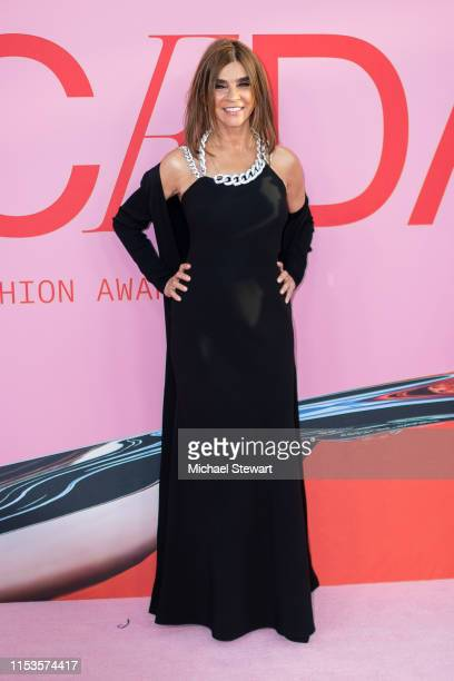 Carine Roitfeld attends the 2019 CFDA Fashion Awards at the Brooklyn Museum of Art on June 03 2019 in New York City
