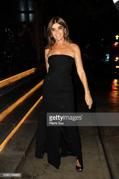 Carine Roitfeld attends the 'BOF 500 Gala Party' on September 9 2018 in New York City