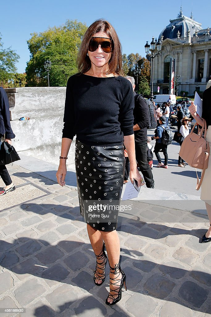 Mugler : Outside Arrivals - Paris Fashion Week Womenswear Spring/Summer 2015