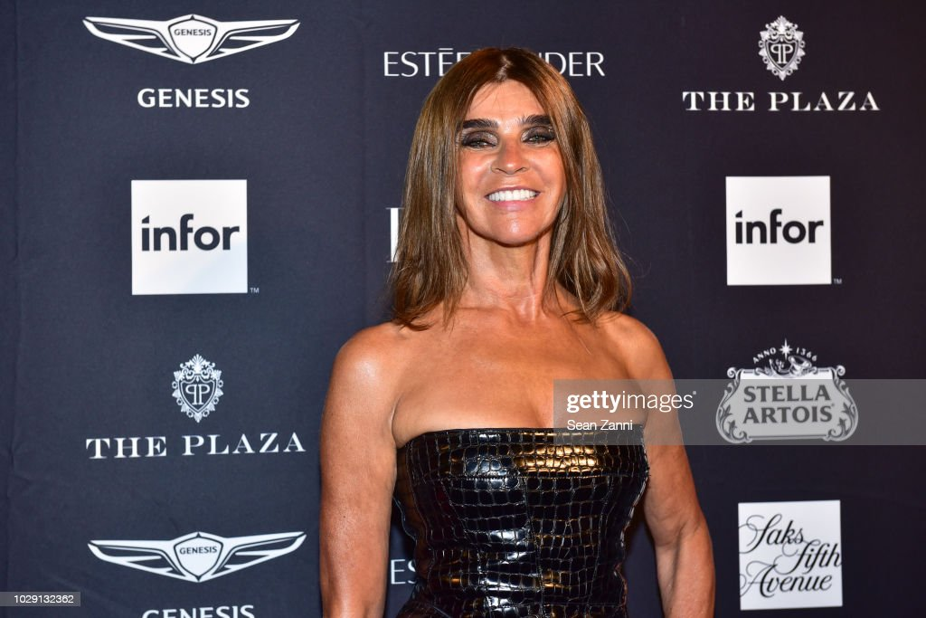 Carine Roitfeld attends The Worldwide Editors Of Harper's Bazaar Celebrate ICONS by Carine Roitfeld presented by Infor, Stella Artois, FUJIFILM, Estee Lauder, Saks Fifth Avenue and Genesis at The Plaza Hotel on September 7, 2018 in New York City.