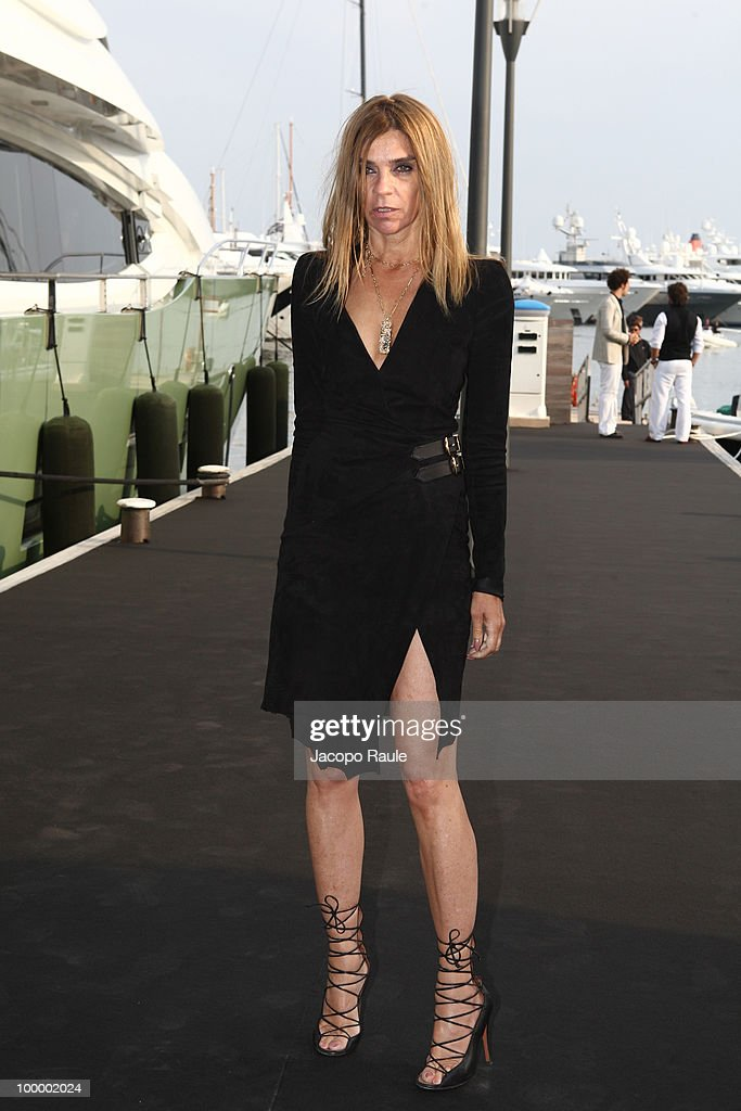 Carine Roitfeld is seen during the 63rd Annual International Cannes Film Festivalon May 19, 2010 in Cannes, France.