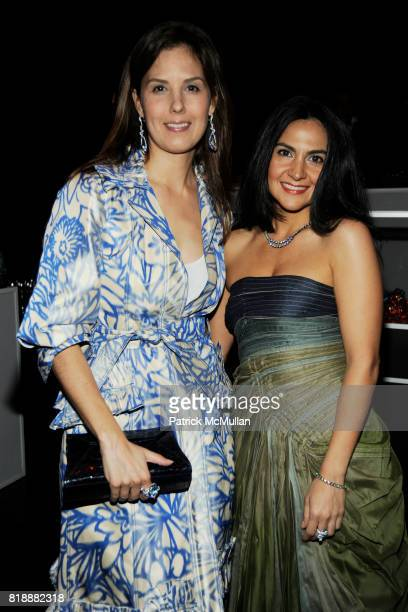 Carineh Martin and Melissa Skoog attend Creative Time Annual Benefit honoring Andrea Marc Glimcher at Jing Fong on May 19 2010 in New York City