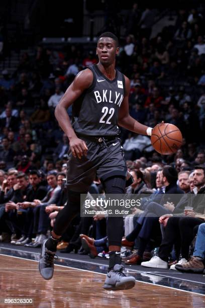 Caris LeVert of the Brooklyn Nets handles the ball against the Sacramento Kings on December 20 2017 at Barclays Center in Brooklyn New York NOTE TO...