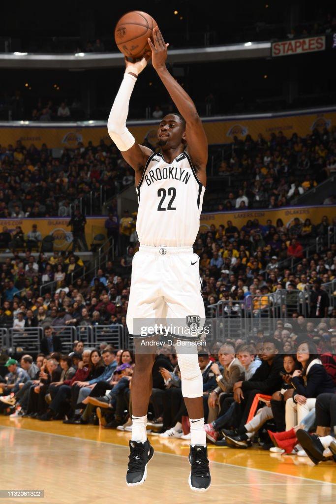 CA: Brooklyn Nets v Los Angeles Lakers