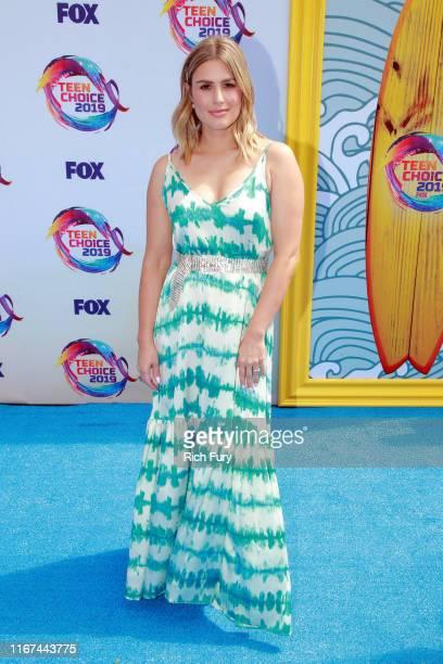 Carissa Culiner attends FOX's Teen Choice Awards 2019 on August 11 2019 in Hermosa Beach California