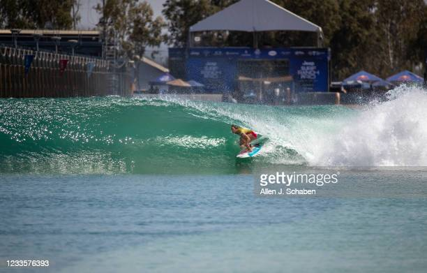 Carissa Moore, of Hawaii, who became the first American female to qualify for surfing's Olympic debut while clinching her fourth surfing world title...