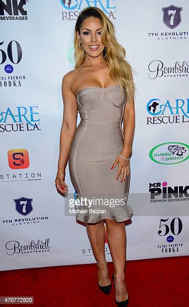 Carissa Rosario attends Babes In Toyland Charity Toy Drive at Boulevard3 on April 22, 2015 in Hollywood, California.