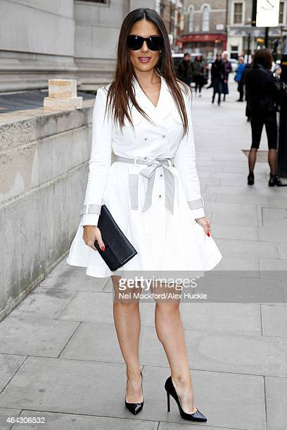 Carissa Rosario attends the Marko Mitanovski AW15 show at the Freemasons Hall on February 24, 2015 in London, England.