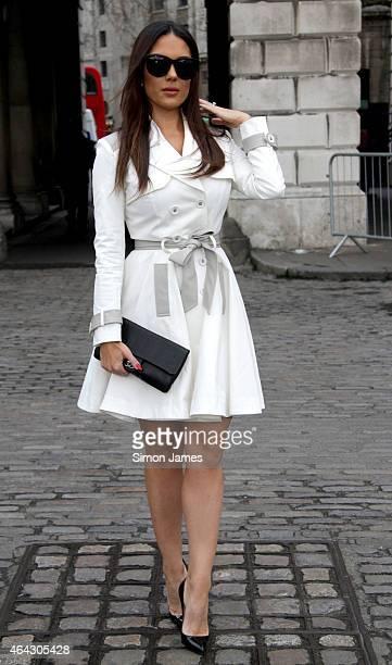 Carissa Rosario sighting on February 24, 2015 in London, England.