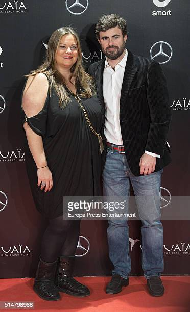 Caritina Goyanes and Antonio Matos attend the presentation of the new Smart Ushuaia Limited Edition 2016 on March 10 2016 in Madrid Spain