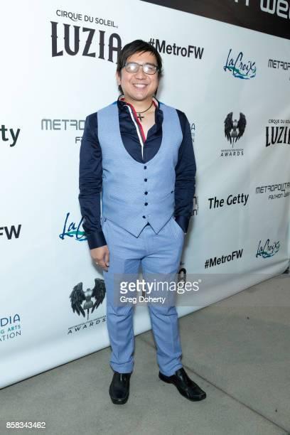 Carl Andrada attends the Metropolitan Fashion Week Closing Night Gala at Arcadia Performing Arts Center on October 5 2017 in Arcadia California