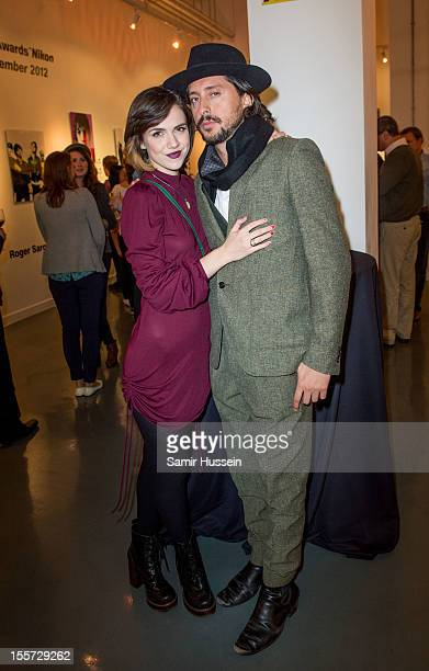 Carl Barat and Edie Langley attend the NME Photographers Awards sponsored by Nikon at Getty Images Gallery on November 7 2012 in London England