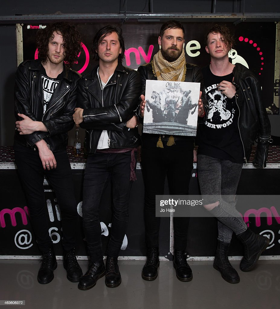 Carl Barat & The Jackals Perform In Store For Fans At HMV Oxford Street