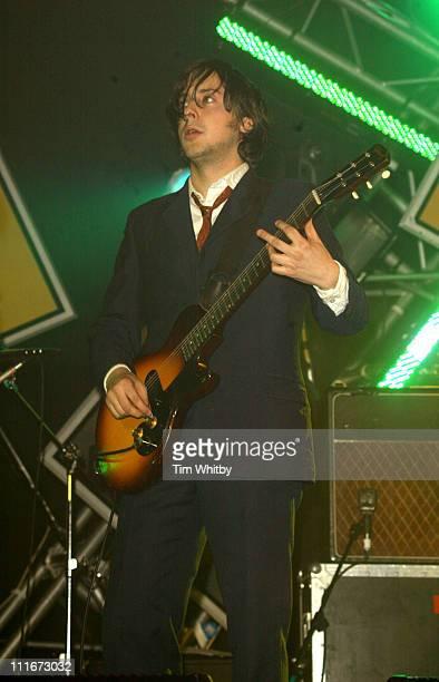Carl Barat of The Libertines during NME Awards 2004 Show at Hamersmith Palais in London United Kingdom