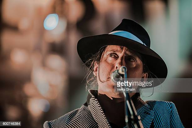 Carl Barat of The Libertines performs at O2 Academy Brixton on September 7 2016 in London England