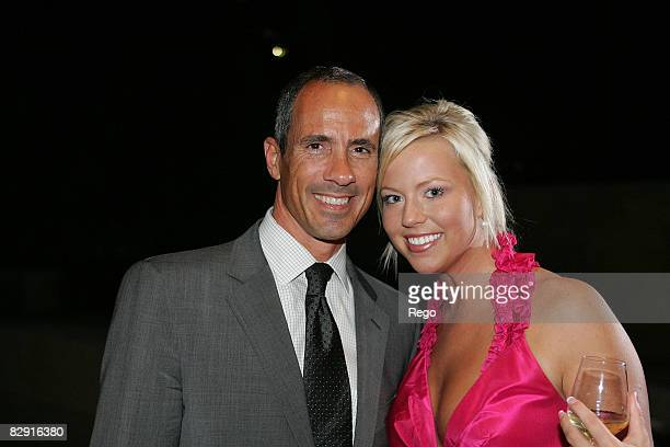 Carl Barbato and Abby Hilliard attend the DY VIP Dinner Hosted by David Yurman at Nasher Sculpture Center on September 17, 2008 in Dallas, Texas.