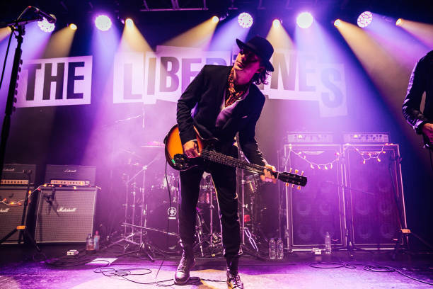 GBR: The Libertines Performs At O2 Academy, Bristol