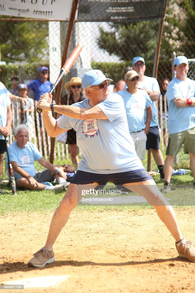 Carl Bernstein attends the 69th Annual Artists and Writers Softball Game at Herrick Park on August 19, 2017 in East Hampton, New York.