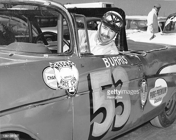 Carl Burris ran this 1957 Chevrolet in two NASCAR Convertible Series races during the season He finished 22nd on the BeachRoad Course in Daytona...
