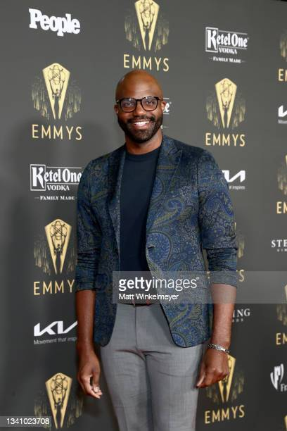 Carl Clemons-Hopkins attends the Television Academy's Reception to Honor 73rd Emmy Award Nominees at Television Academy on September 17, 2021 in Los...