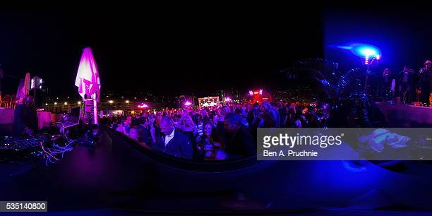 Carl Cox performs at the Red Bull Racing Energy Station at Monte Carlo on May 28 2016 in Monaco