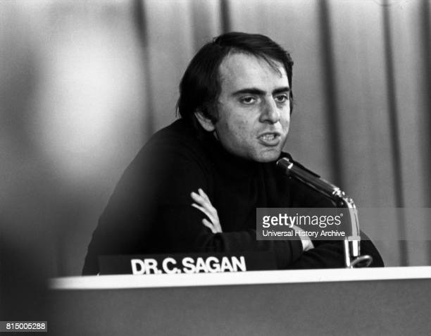 Carl Edward Sagan was an American astronomer cosmologist astrophysicist astrobiologist author science populariser and science communicator in...