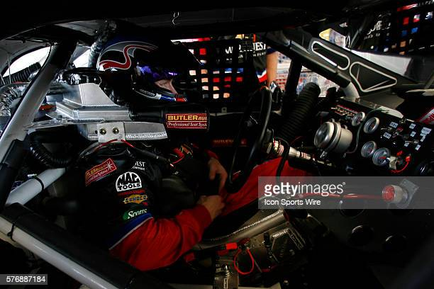 Carl Edwards is ready for practice for the telcel MOTOROLA 200 at the Autodromo Hermanos Rodriguez. Nascar Busch Series March 3, 2006
