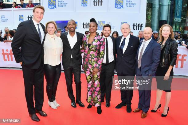 Carl Effenson, Kim Roth, Charles D. King, Dee Rees, Tim Zajaros, Cassian Elwes, Christopher Lemole, and guest attend the Gala Presentation of...