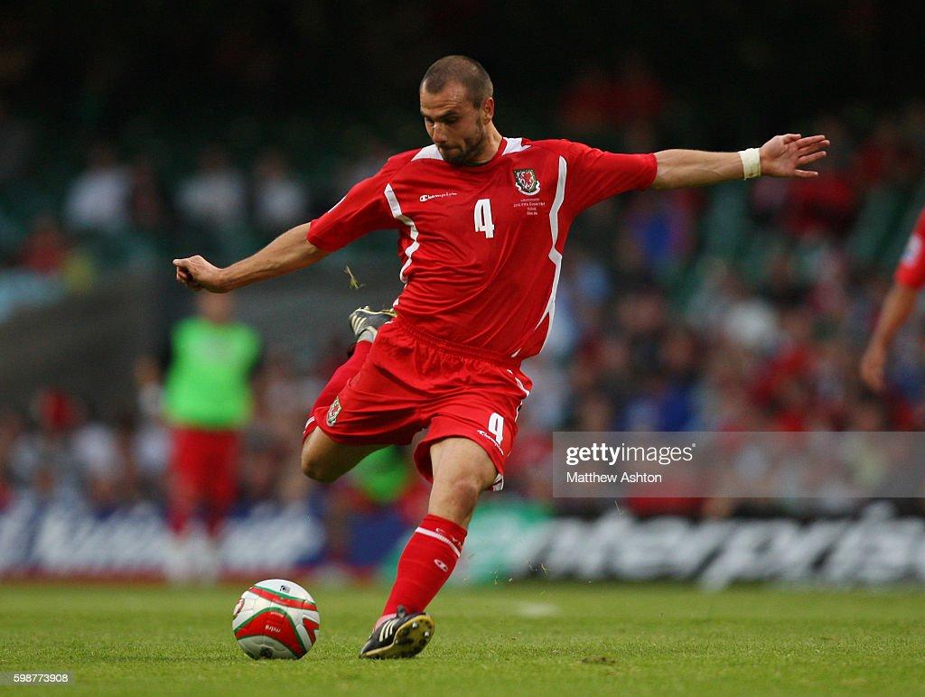 Soccer - FIFA World Cup 2010 Qualification - Wales vs. Liechtenstein : News Photo