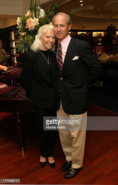 Carl Forsyth and Sabrina Forsyth during Brooks Brothers Event Greenwich at Brooks Brothers in Greenwich, Conneticut, United States.
