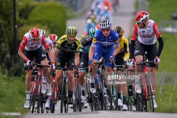 Carl Fredrik Hagen of Norway and Team Lotto Soudal / Michael Albasini of Switzerland and Team MitcheltonSCOTT / Alvaro Jose Hodeg Chagui of Colombia...