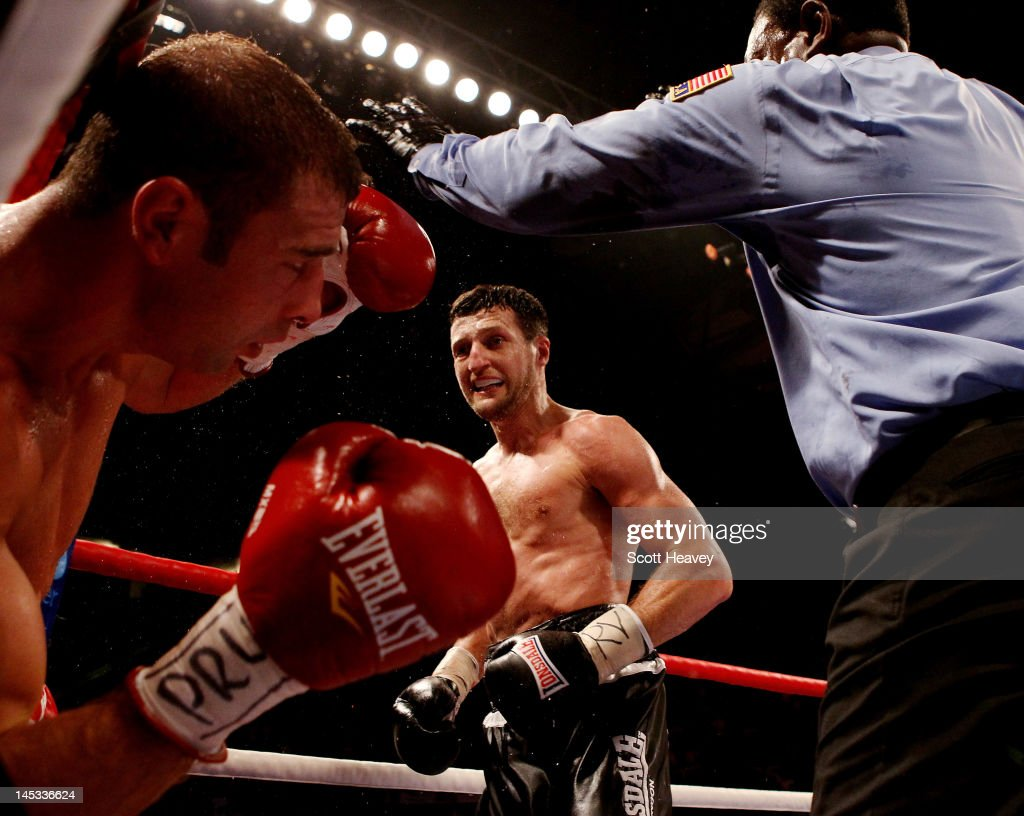 Carl Froch v Lucian Bute - IBF World Super Middleweight Title Fight : News Photo
