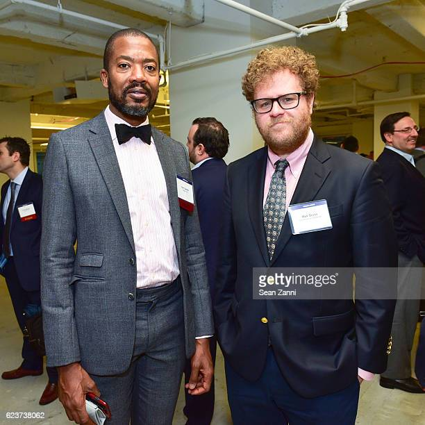 Carl Gaines and Max Gross attend The Commercial Observer Financing Commercial Real Estate at 666 Fifth Avenue on November 15 2016 in New York City