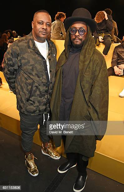 Carl Gilliam and william attend the MCCVIII presentation during London Fashion Week Men's January 2017 collections at Institute Of Contemporary Arts...