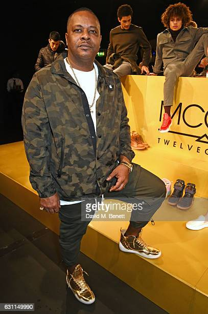 Carl Gilliam attends the MCCVIII presentation during London Fashion Week Men's January 2017 collections at Institute Of Contemporary Arts on January...