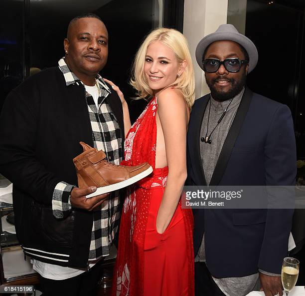 Carl Gilliam Pixie Lott and William attend a private dinner at Mr Chow hosted by william and brother Carl Gilliam to celebrate the launch of their...