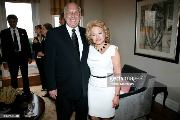 Carl Goldstein and Lynn Goldstein attend JOHN SEXTON and MATILDA RAFFA CUOMO host a reception honoring ANDREA BOCELLI at Private Residence on June 15...