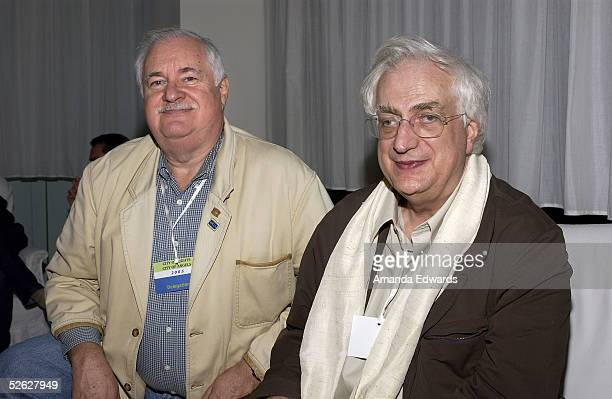 Carl Gottlieb and Director Bertrand Tavernier attend the post screening party for the 9th Annual City of Lights City of Angels Film Festival held at...