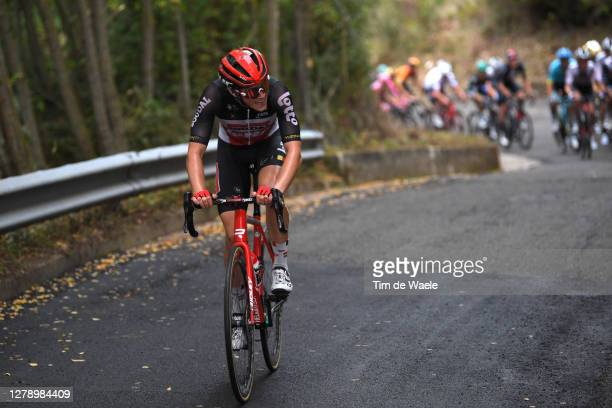 Carl Hagen Fredrik of Norway and Team Lotto Soudal / during the 103rd Giro d'Italia 2020, Stage 5 a 225km stage from Mileto to Camigliatello Silano...